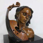 Amour de la musique - bronze 7x10x11