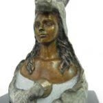 Peau d'âne - bronze 3x3x6