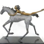 La grande fugue - bronze 6x17x14