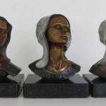 Trois évangeline - Bronze